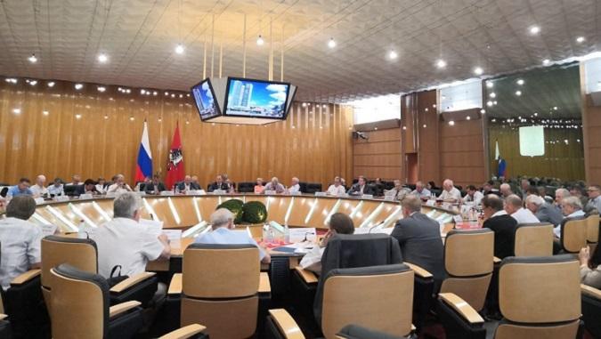 На заседании в Правительстве Москвы