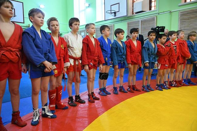 Гимн петрозаводской Школе самбо